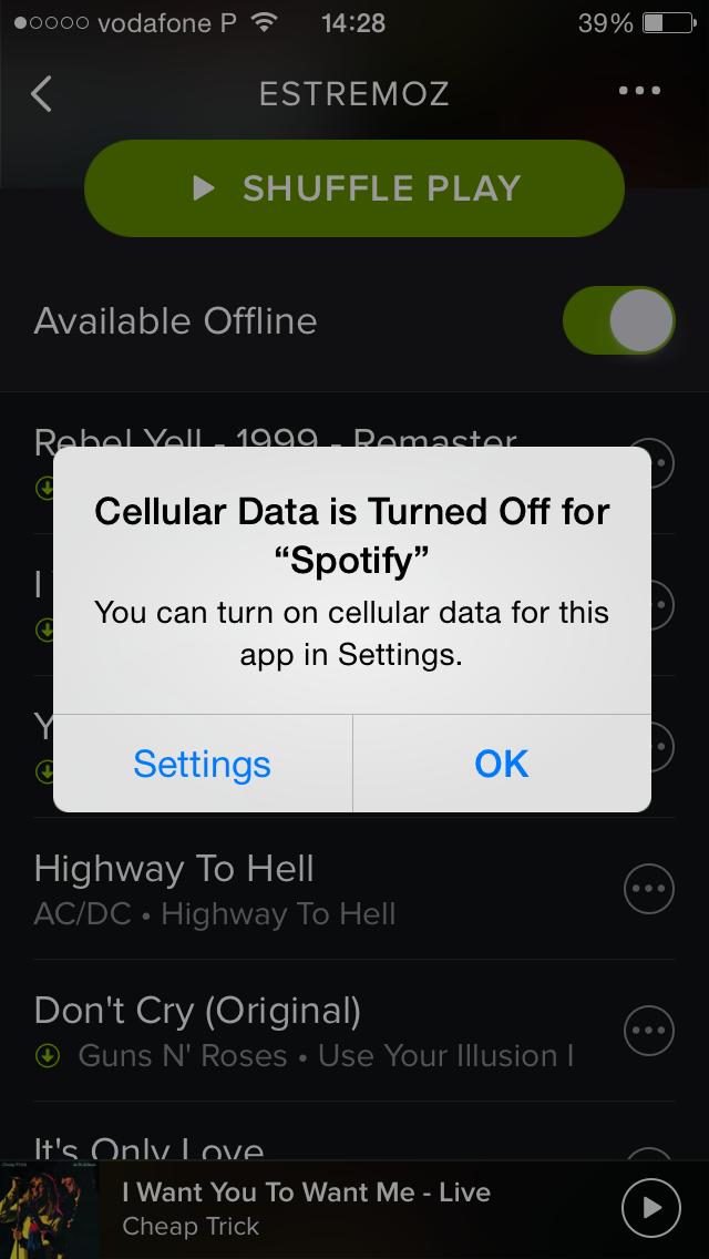 How to listen to Spotify using no data from your phone plan